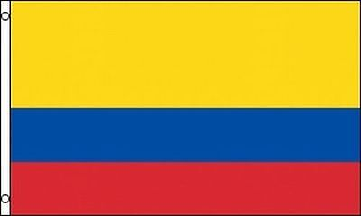 3X5 Ft Republic Of Colombia Flag Colombian Columbia Columbian South America F