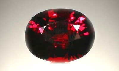 Bavaria Red Spessart 2½ct+ Antique 19thC Ancient Greek Child Drowning Poison Gem