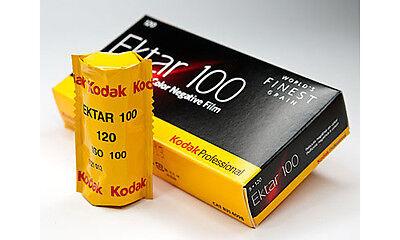 3 Rolls Kodak Ektar 100 120 Pro Color Negative Film Exp. Fresh Dated