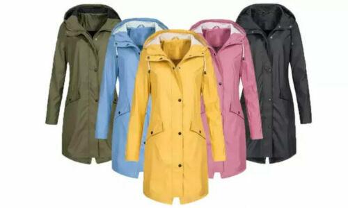 Wasserdichte Lange Jacke für Damen