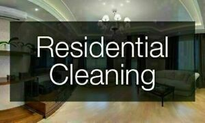 Residential Cleaning- 1 Cleaner $20/hour