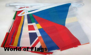 EURO 28 BUNTING European Union Europe Flags Eurovision Song Contest World Party