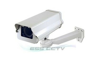 CCTV SECURITY CAMERA Outdoor Housing and Bracket Mount combo, 36 IR LED 12V DC