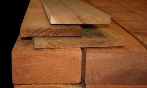 gebruik red cedar bouwmateriaal