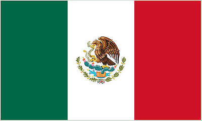 Premium Quality 5Ft X 3Ft 5'X3' Flag Mexico Mexican