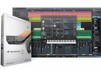 Pre Sonus Studio One 3 Professional DAW with all content - BARGAIN