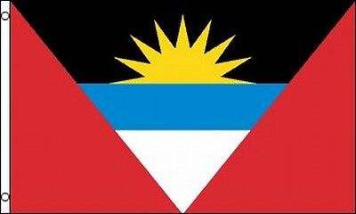Flag of Antigua and Barbuda 3x5 ft Country Nation Caribbean Island St Johns (Antigua Flag)