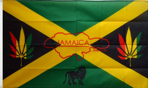 JAMAICA REGGAE FLAG 5