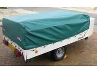 Large 4 berth trailer tent