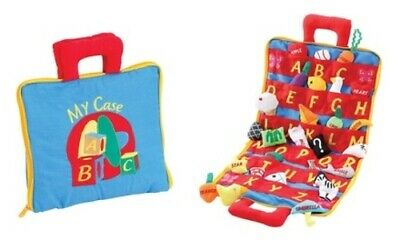 NEW ABC Carry Bag Set with 26 Fun Learning Objects - Multi