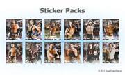 WWE Stickers