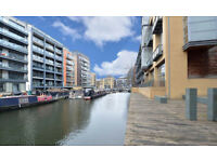 Haggerston E8. Stylish & Spacious 2 Bed Furnished Mezzanine Style Apartment overlooking Canal