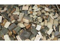 Hardwood logs seasoned or part seasoned. The very best firewood. Long burning timber. Cut and split