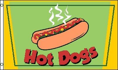 3x5 Ft Hot Dogs Flag Business Advertising Sign Concession Banner - Gf
