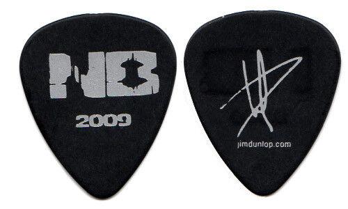 NICKELBACK Guitar Pick : 2009 Dark Horse Tour Daniel Adair signature black
