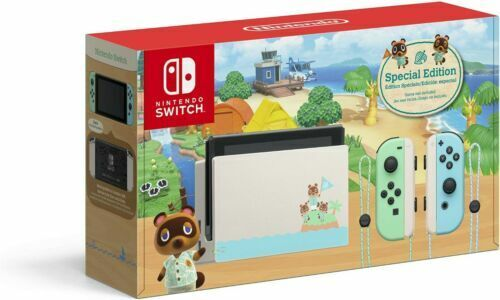 Animal Crossing New Horizon Special Edition Nintendo Switch Console (BRAND NEW)