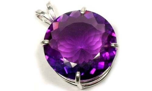 Amethyst Pendant 28ct Antique Scotland British Crown Jewels Edward Confessor Gem