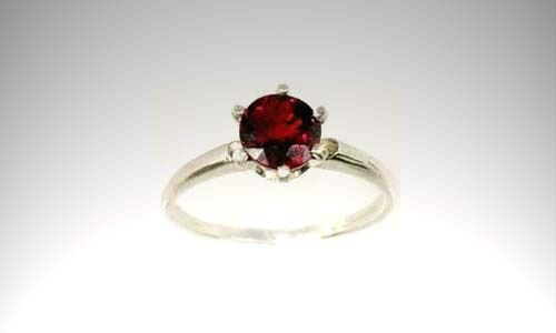 Red Spinel Ring 1¼ct Antique 19thC Russia Empress Catherine Forbidden China Gem
