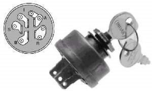 IGNITION KEY SWITCH ARIENS GT10 GT12 GT14 GT16 GT18
