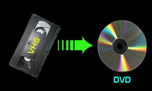 copie de vhs en dvd
