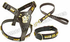 Leather Harnesses with Collar for Dogs