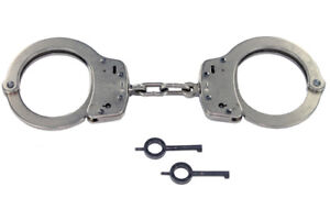 Smith & Wesson Model 100-1 Nickel Handcuffs