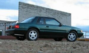 Mustang LX 1988 to 1993 Coupe low kilometres 5 speed