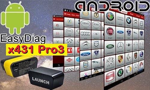 LAUNCH Easydiag 3.0 GoLo Diagun X431 MaxGo M-Diag CarCare software