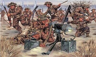 Italeri WWII British Infantry 1-72 556056