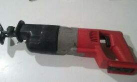 MILWAUKEE CORDLESS SAWZALL 18 VOLT BARE TOOL ONLY