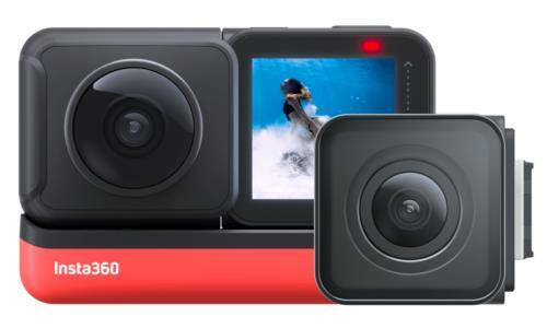 Insta360 ONE R Twin Edition Dual Lens Action Camera *SEALED* CINAKGP/A