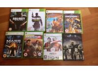 22 XBOX 360 GAMES ALL BOXED