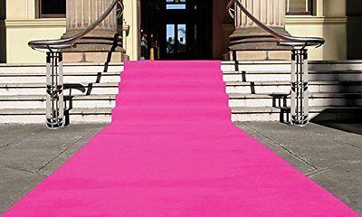 Pink Teppich Läufer (VIP Teppich PINK, Empfangsteppich, Hochzeitsteppich, Läufer Gala Eventteppich)