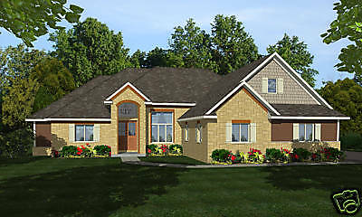Tradition Home House Plan 2,207 SF Blueprints w/Full Bsmt