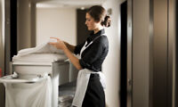 Hiring Hotel Cleaners