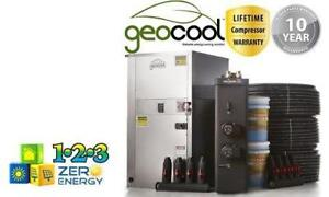 Canada's only DIY Geothermal Heating Packages - Complete Geothermal kits with 10 year warranty and Life Time Compressor