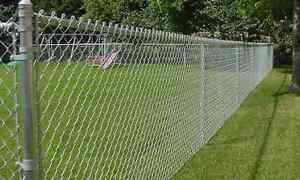Chain link fencing (75 feet)