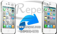 IPHONE GLASS REPAIR/IPHONE5/5S/5C /4S/4 REPAIR AT IREPEX