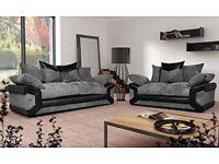 Big Sale Now On Brand New Fabric Lusso 3+2 Sofa Set