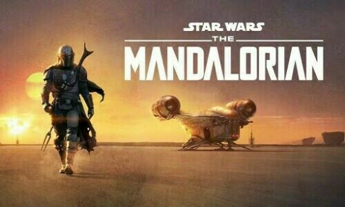 The Mandalorian Season 1, 4 Dvds 8 Episodes(English Audio and Subtitles)