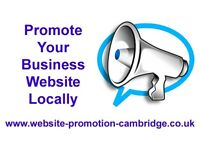 Website Promotion & SEO – Promote Your Business Website Locally - Ely, Cambridge