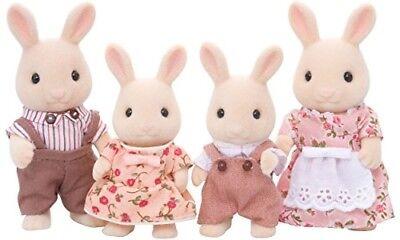 Sylvanian 4108 Families Milk Rabbit Family
