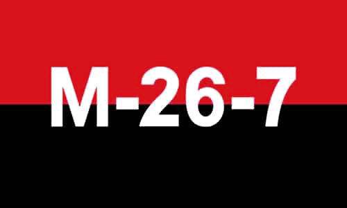 CUBA 26th JULY 1959 MOVEMENT FLAG 5