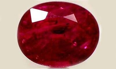 Ruby Siam Antique 19thC 2¾ct Ancient Hebrew Israel Biblical Amulet Lord of Gems