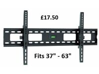 """Classic Heavy-duty Tilting TV Wall Mount For most 37''- 63"""" Curved & Flat panel TVs"""