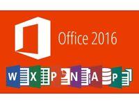 Microsoft Office 2016 for Windows / Macbook / Imac