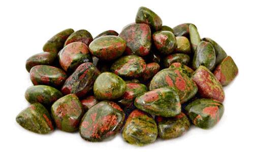 Bulk Lot 1 lb Unakite Tumbled Stones Gemstones Chakra Reiki Crystal Healing