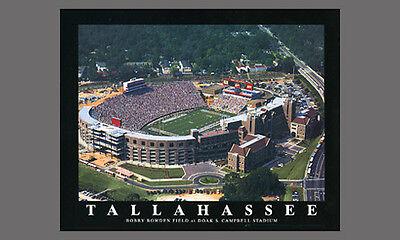 Florida State Seminoles Football DOAK CAMPBELL STADIUM Aerial View POSTER Print - Florida State Doak Campbell Stadium