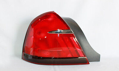 Tail Light Assembly Left TYC 11-5374-01 fits 98-02 Mercury Grand Marquis