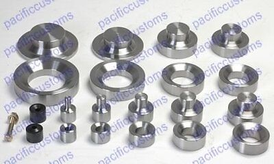 Dimple Die Set Includes 1.50 2.0 And 2.5 3.0 Inch And Dzus Button Die Kit